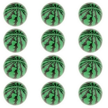 12Pcs/Set Solid Watermelon PU Sponge Ball Stress Relief Kids Party Pet Toy