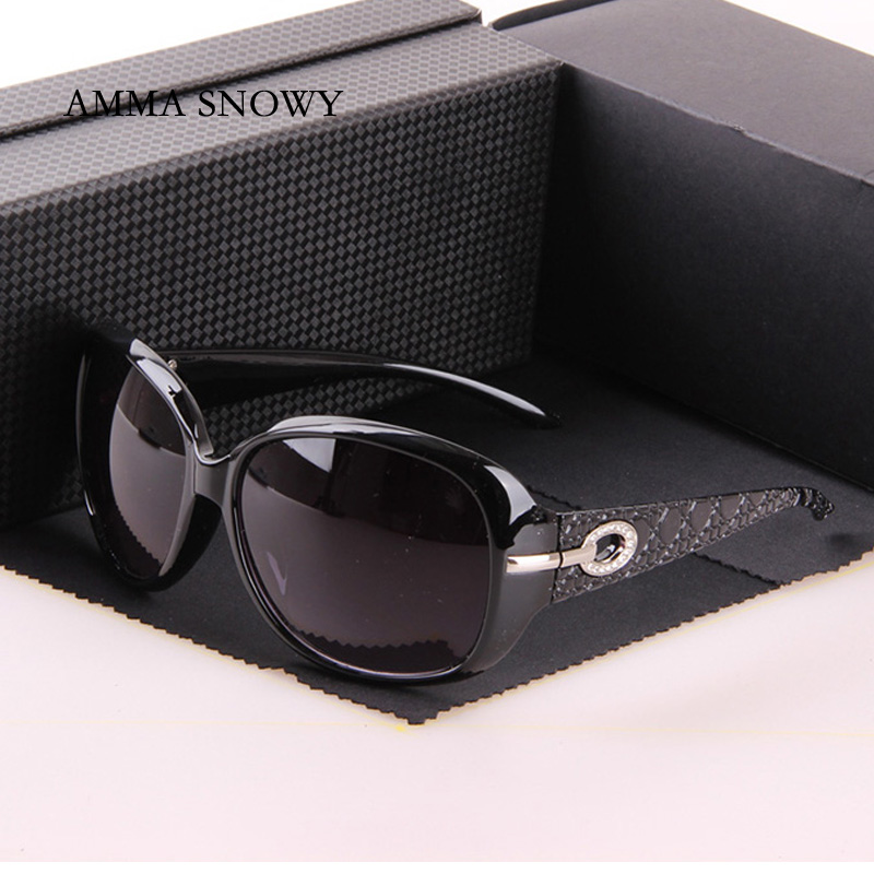 Original Classic Snakeskin Pattern Brand Sunglasses Women in Womens Sunglasses Black Oval Big Glass Gafas De Sol AS003<br><br>Aliexpress