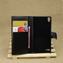 CYBORIS for Huawei Ascend P6 Case Leather Phone Case for Huawei Ascend P6 Flip Cover Stand Wallet Bag Card Slot(China)