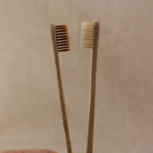 10 pcs = 1LOT  bamboo toothbrushes, low-carbon green natural bamboo by hand toothbrush