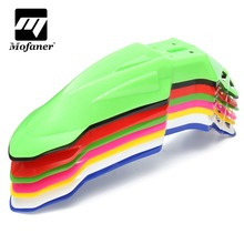 8 Colors ABS Plastic Universal Plastic Motorcycle Front Mud For Fender For KTM For Honda /Yamaha /Kawasaki /Suzuki(China)