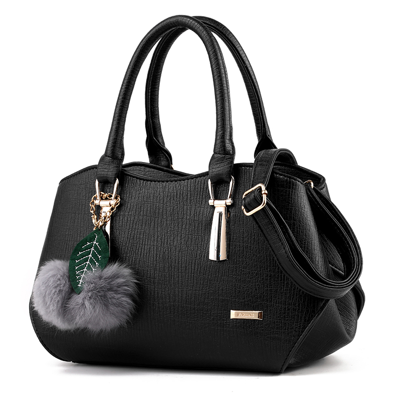 Women Top-handle Bag Handbag PU Leather Shoulder package cross body bag Tote Bags Tassel<br>