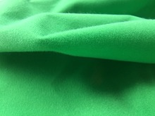 1 meter Green fleece fabric adhesive brushed woven fabric for DIY sewing Stuffed toys sofa furniture material Warp