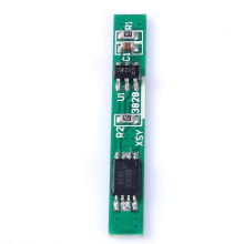 10pcs 1S 3.7V 2.5A Lithium Battery Protection Board BMS PCM PCB Polymer Over Charge Discharge Li-ion Protect Module