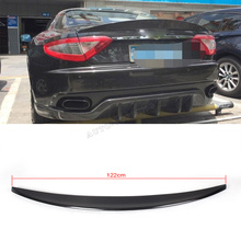 Carbon Fiber Auto Car Trunk Lip Spoiler wing For Maserati GranTurismo GT Coupe 2010UP fit cock trunk