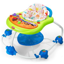 Free Shipping musical activity center baby learning walker Piano Splash Walker