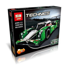 LEPIN 20003 1249Pcs Technic Series 24 Hours Race Car Model Building Kit Blocks Brick Toy Vehicles With 42039