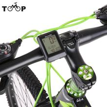 Bicycle Speedometer Bike Computer Wireless Odometer Cadence Bike Option Temperature Cycling Riding Multi Function Bike Stopwatch