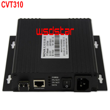 CVT310 Fiber converter CVT310 converter For LED video wall display 300m transmission distance 3pcs/lot