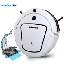 Seebest D730 MOMO 2.0 Robot Vacuum Cleaner with Wet/Dry Mopping Function, Clean Robot Aspirator Time Schedule, Russia Warehouse(China)