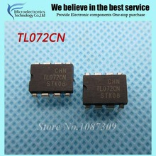 10pcs free shipping TL072CN TL072 TL072C TL072CP DIP-8 Operational Amplifiers - Op Amps Dual Low Noise JFET new original(China)