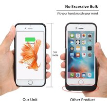 For iPhone 6 6s Battery Case,Smiphee 2500mAh Portable Charging Case for iPhone 6 6s(4.7 inch) Extended Battery Juice Pack