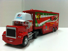 Pixar Cars Mack Uncle Truck Francesco Bernoulli  Diecast Toy Car Loose 1:55 Brand New In Stock & Free Shipping