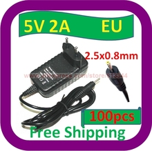 100 pcs Free Shipping 5V 2A EU Plug AC Adapter Charger Power Supply for Kodak M1033 M753 M763 Camera PSU(China)