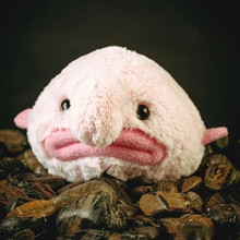 20cm Stuffed Blobfish Plush Toy Funny Sea Animal Toy Cute Expression Blobfish Doll Great Children Gift Toy(China)