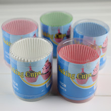 100pcs/lot paper good packing cupcake liners baking cups for cupcake war cupcake Holder cup white /black/red/blue random color