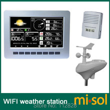 misol / WIFI weather station with solar powered sensor wireless data upload data storage(China)