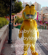 New Garfield cat mascot costume fancy costume bugs bunny dragon mascotte cooling fancy dress carnival costume