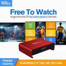 Buy 6 Months Europe IPTV Tv Box Android 6.0 & 1700+ Arabic French Turkish Netherlands IPTV Channels Strong WIFI 2GB/16G Set top Box for $93.10 in AliExpress store