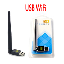 Wireless USB WiFi Satellite Receiver Mini USB WiFi adapter For Freesat V7 HD COMBO MAX V8 Super v8 Golden Openbox V8 Combo
