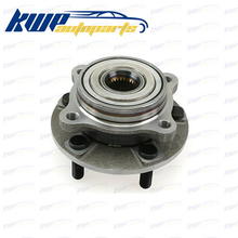 Front Wheel Bearing Compl Hub+Wheel Studs for Mitsubishi Lancer Evo 7 8 9 CT9A