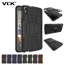 VCK For HTC Desire 530 630 728 825 828 ONE A9 Case Heavy Duty TPU PC Defender Armor Dazzle Shockproof with Kick Stand Cover