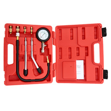 A0011 Gasoline Engine Compression Tester Automotive Test Combination Kit 0~300psi Auto Pressure Tester