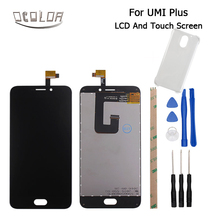 Ocolor For Umi Plus LCD + Touch Screen Original 5.5inch Screen For Umi Plus Digitizer Assembly Replacement+Tool+Adhesive+case(China)
