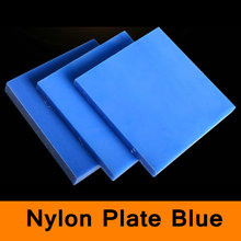 Polyamide Plate PA Sheet Blue Color Nylon Board Mould Mold Plank Insulation Material DIY Tool High Strength Plastic Customized(China)