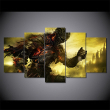 HD Printed dark souls Game Painting on canvas room decoration print poster picture canvas Free shipping/ny-2337