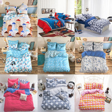High Quality European Style Bedding Set Including 2 Pillowcase 1 Duvet Cover 1 Coverlet 9 colors available