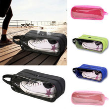 Multicolour Outdoor Waterproof Portable Zip Travel Shoes Bag Holder Case Storage
