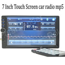 7 Inch Touch Screen 2 Din Bluetooth Car Radio stereo USB SD AUX IN FM video MP4 MP5 Player support Rear View Camera In Dash(China)