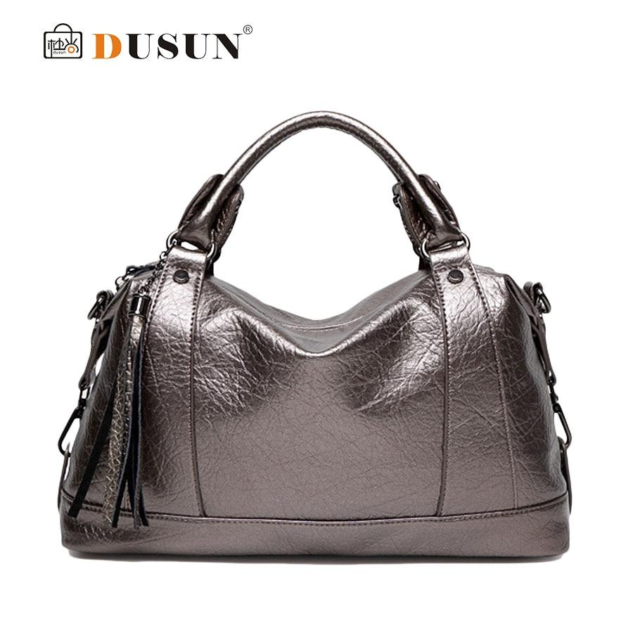 DUSUN Women Tote Women Shoulder Bag New 2016 Women PU Leather Handbags Fashion Ladies Messenger Handbag Tote Crossbody Bag SE25<br><br>Aliexpress
