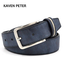 Brushed Pu Face Leisure Belts High Fashion Men Belt 2016 Leather Belts For Jeans For Man With 110 cm 115cm 120 cm 125cm 130 cm(China)