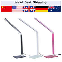 Energy Saving Folding  Rechargeable 48 LED Table Desk Lamps Office Table Lamp Student Reading Lamps Study Lamp Fashion Lights
