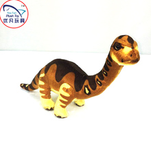 Educational 33cm stuffed toy dinosaur soft Brachiosaurus toy kids gift plush toy dinosaur park souvenir toy