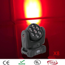 (8pieces/lot)  latest chinese products led moving head light 7*12W RGBW beam moving head led spot stage lighting