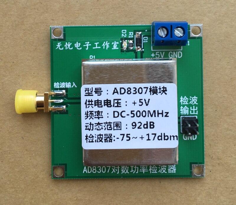 AD8307 module broadband RF detector RF power meter field strength meter AGC ALC<br>