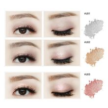 1pc Pro Sparking Eyeshadow Loose Powder Glitter Shimmer High Pigment Eyeshadow Powder Makeup Beauty Eyes Shadow(China)