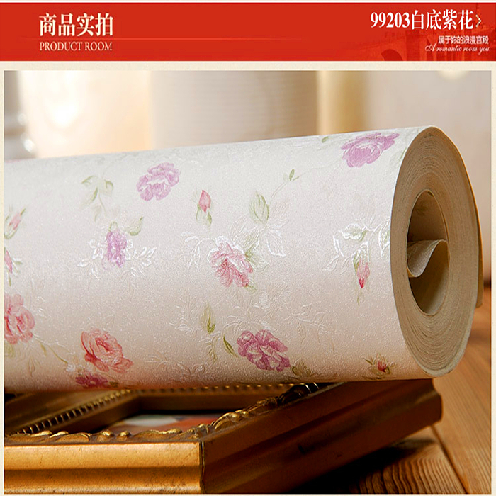 White color floral Wallpapers full with small flowers wallpaper for Wedding room Bedroom sofa Backdrop Wallpaper roll<br><br>Aliexpress