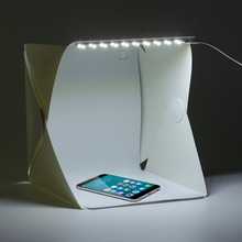 22*24*24cm Photo Studio Box Portable Photography Studio Photo Box Photo Studio Accessories With Light