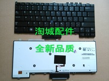 For use on DELL Latitude PP13S E4300 laptop keyboard US version backlit with backlight