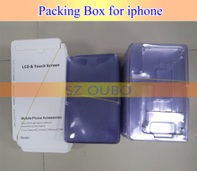 Wholesale Plastic LCD Display Digitizer Touch Screen Package Packing with Paper Box For iPhone 5/5C/5S 6g 6plus/ 7/7Plus