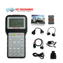 DHL free CK-200 CK200 V50.01 Auto Key Programmer Newest Generation CK200 Key Programmer CK 200 Add Models(China)