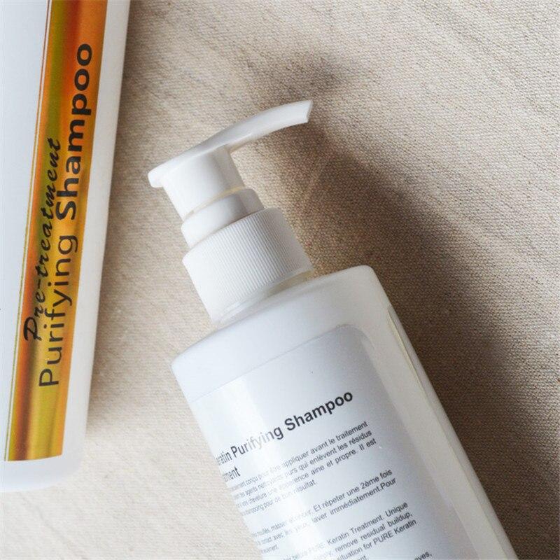 Shampoo for keratin