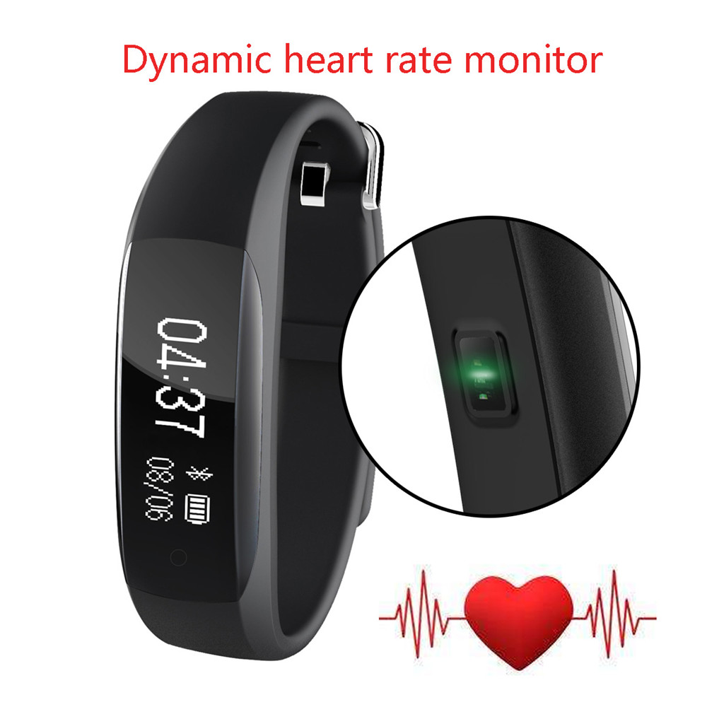 Original Lenovo HW01 Smart Wristband Heart Rate Moniter Passometer Fitness Tracker Bluetooth 4.2 Smartband Android iOS Phone