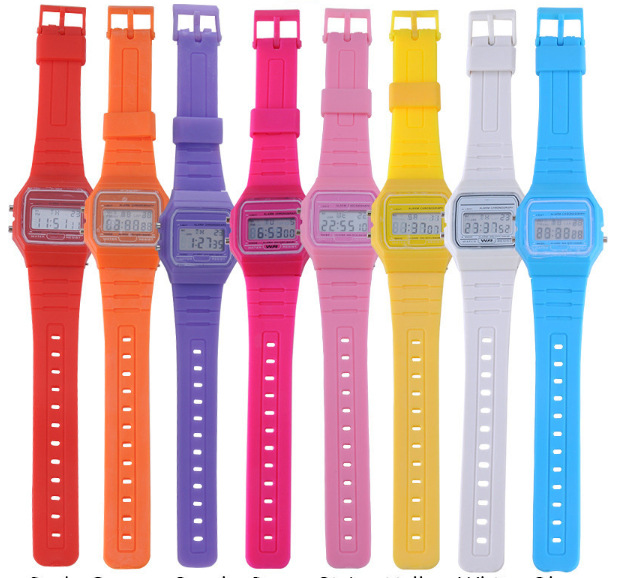 Watches Men's Watches 2018 New Fashion Women Watches Led Display Sport Wristwatches Military Men Watch Pink Soft Silicone Clocks Erkek Kol Saati Reloj