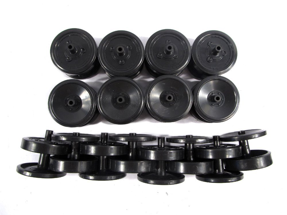HENG LONG SPARE PARTS NO.:18-042/043/044/045 road wheels A/B/C/D for HL 3818/3818-1 RC tank German tiger I<br><br>Aliexpress