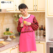 Top Quality Aprons For Women Kitchen Apron Funny Kids Cook Aprons Chef With Pocket Keukenschort Tablier Femme Delantal Avental